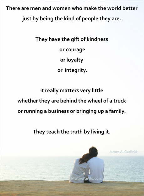 An Inspiritional Picture Of Man And Woman At The Beach With Quote There Are